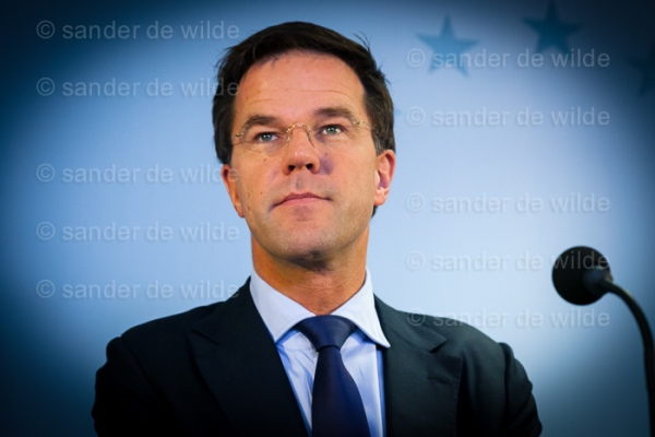 Mark Rutte after European Summit